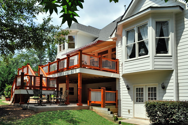 Residential Exterior Decks Flawless Painting